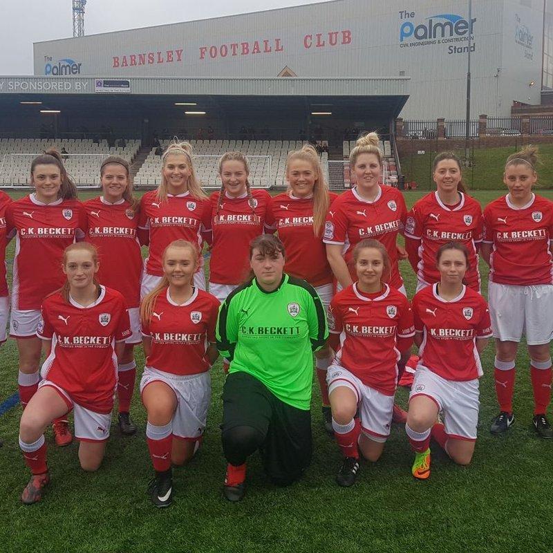 Barnsley FC Ladies vs Crewe Alexandra Ladies FC