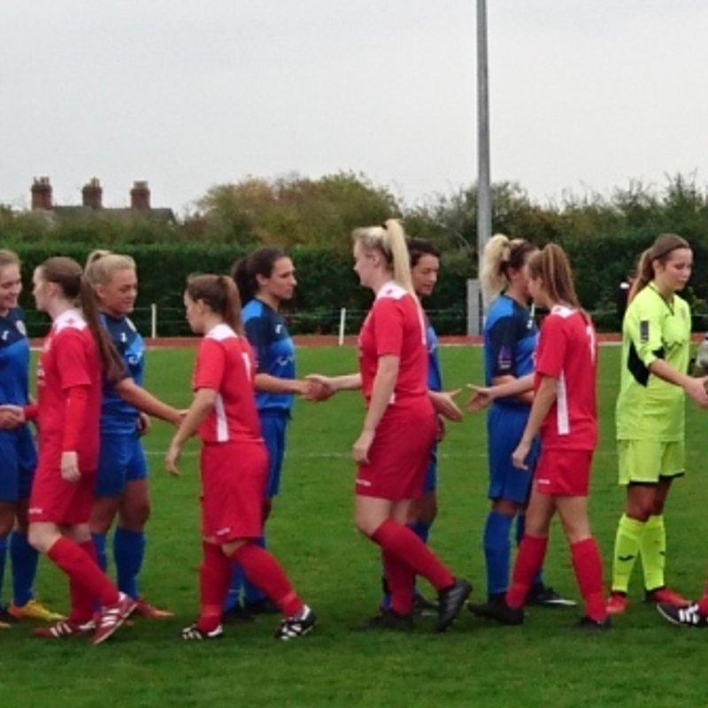 Crewe Alexandria Ladies FC vs Barnsley FC Ladies