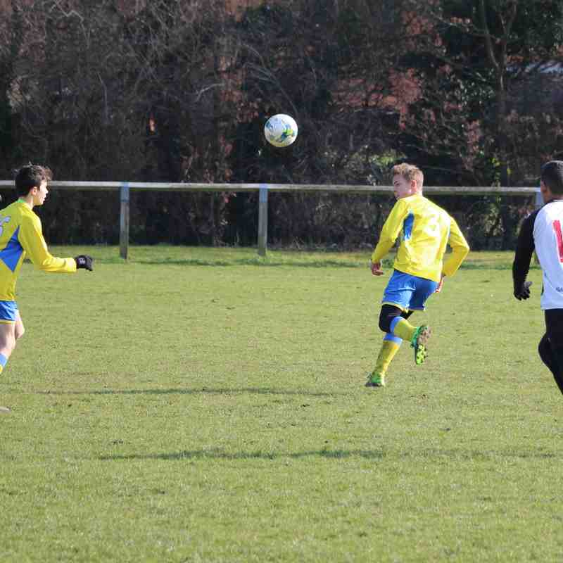Tattenhoe Jaguars U14s vs Winslow United Tigers U14s 24/02/2018