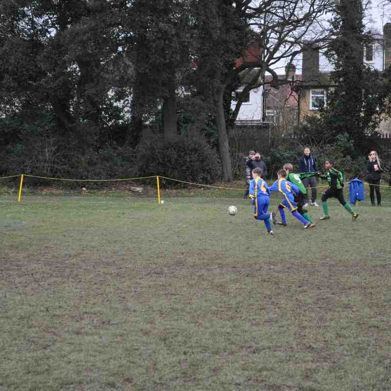 U10 Blues V Whitton Wanderers