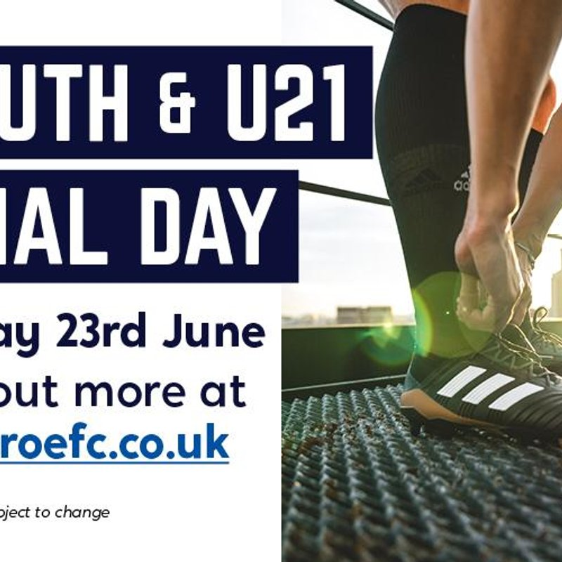 Clitheroe FC Youth/U21's Trial Day