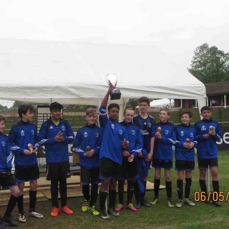 Everett U14's  Kings Langley Tournament Champions