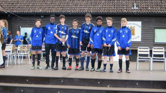 U14 Berkhamsted Tournament Champions