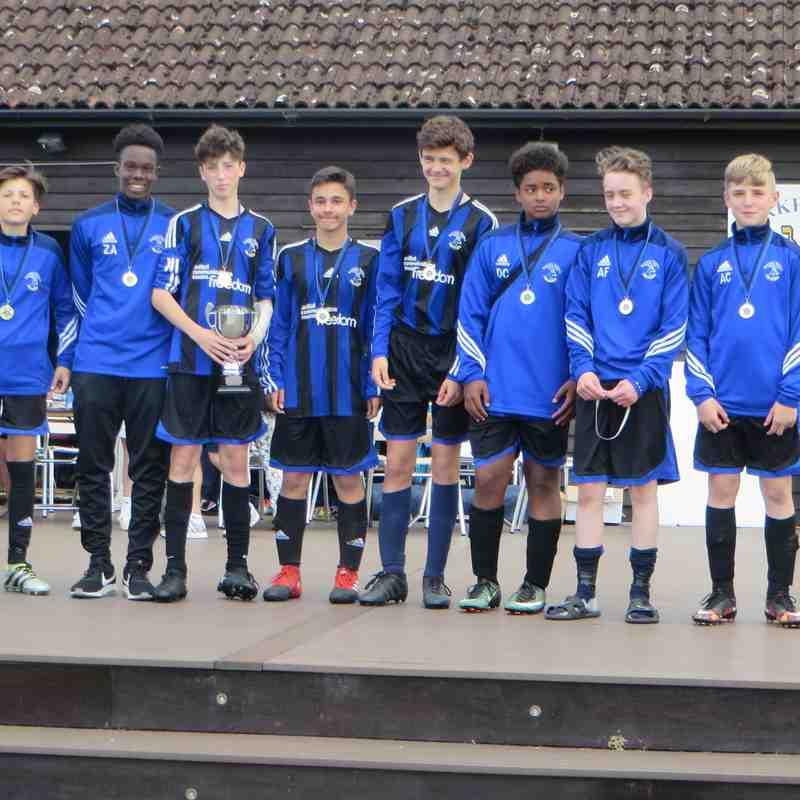 U14 Berkhamsted Tournament Champions