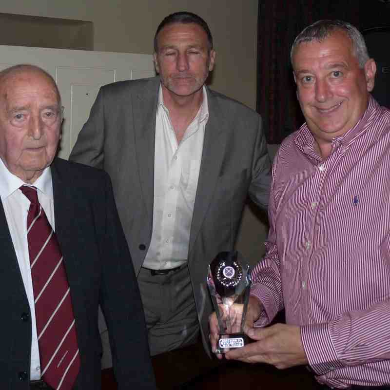 1st - Manager's Award to Martyn Grimshaw