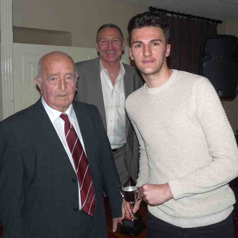 1st Supporter's Player - Jordan Ricketts