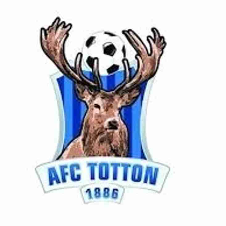 PAULTON ROVERS v AFC TOTTON