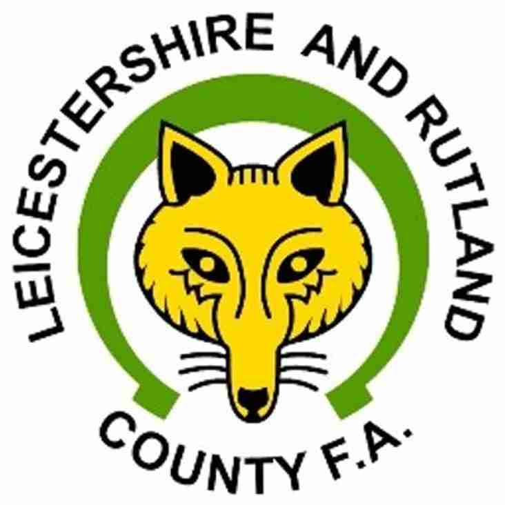 Leicester Road Fixture Re-Scheduled