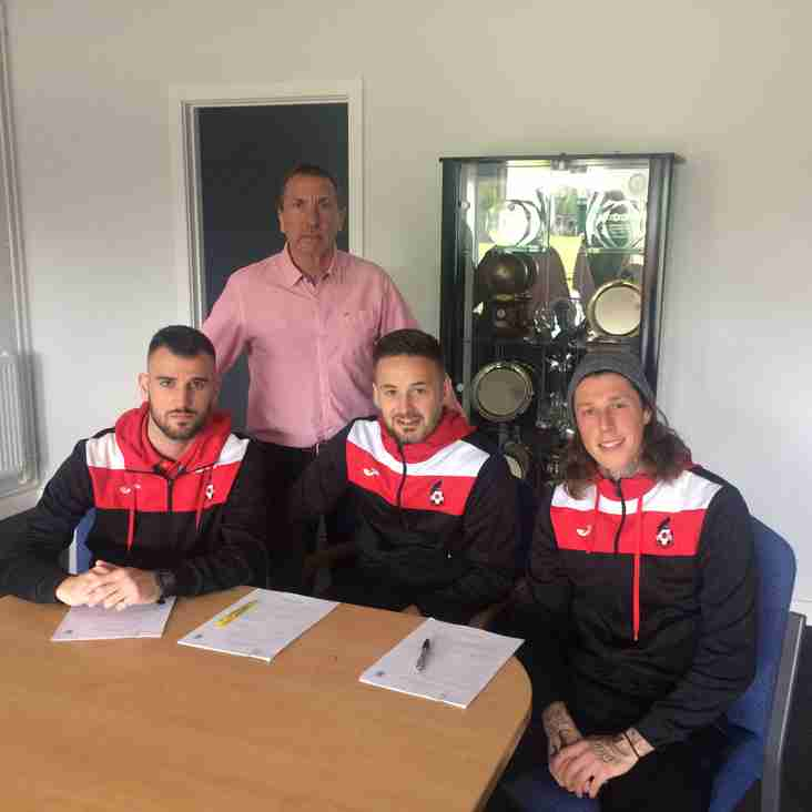 BREAKING NEWS Trio Commit For Next Season