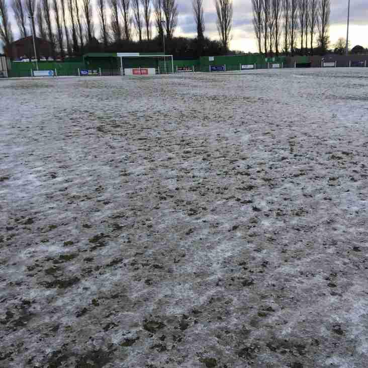 Stafford Rangers Fixture Postponed
