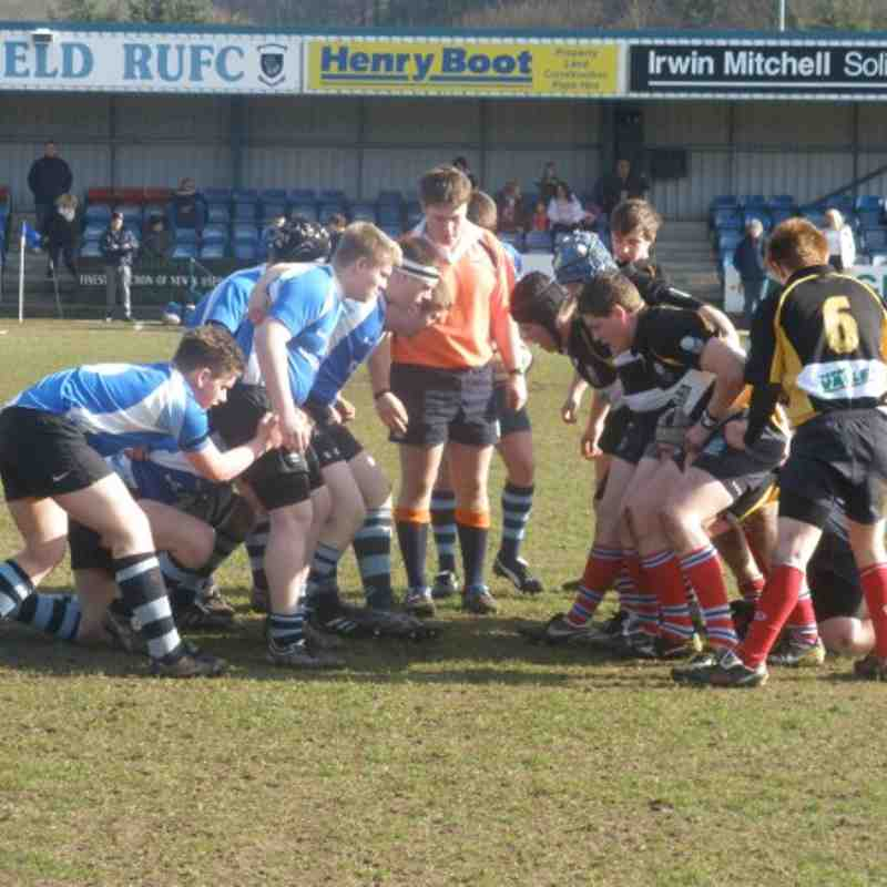 Sheffield U17 v Winnington Park U17 Raging Bulls Colts League National Plate