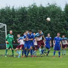 A seven minute hat-trick by Dave Reynolds demolished AFC Brignorth.