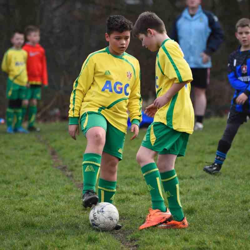 Lourdes Under 11's Lions FC v Atherton Town Lightning 7/2/15