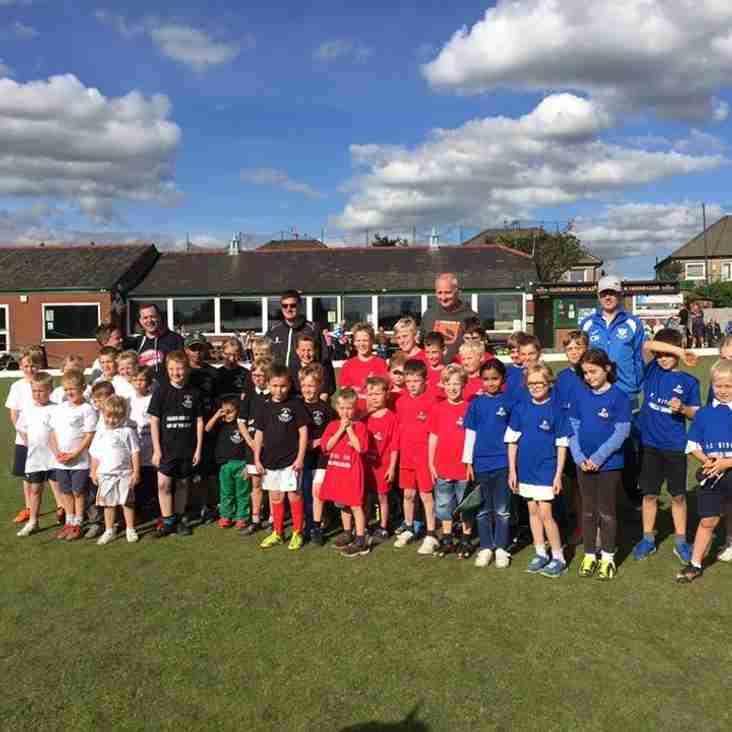 Clitheroe CC school cricket coaching programme