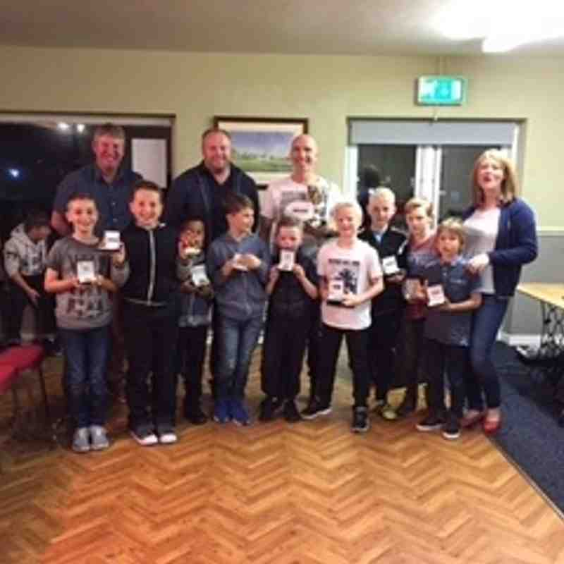 Junior Cricket Presentation - 2016