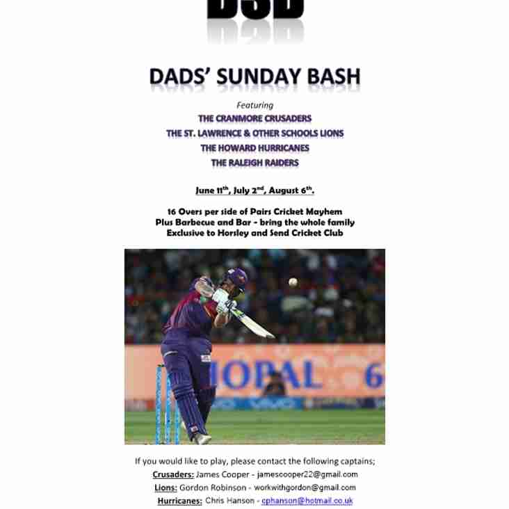 Dad's Sunday Bash