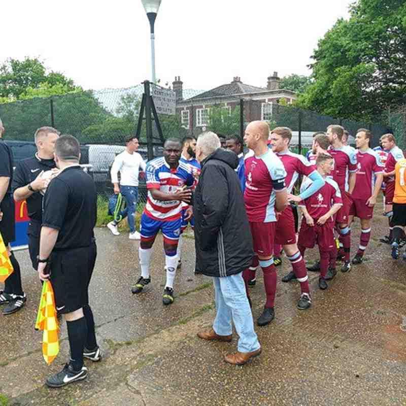 Peckham Town Men's 1st 2-1 Borden Village