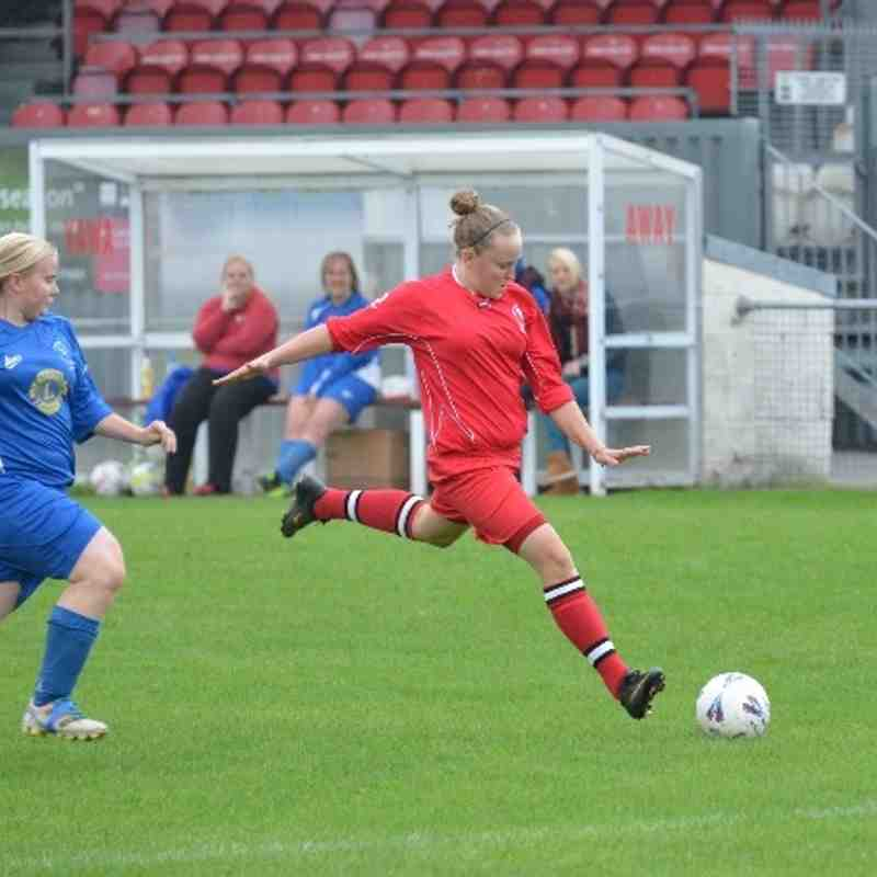 Bideford AFC Ladies 5, Ilfracombe 2