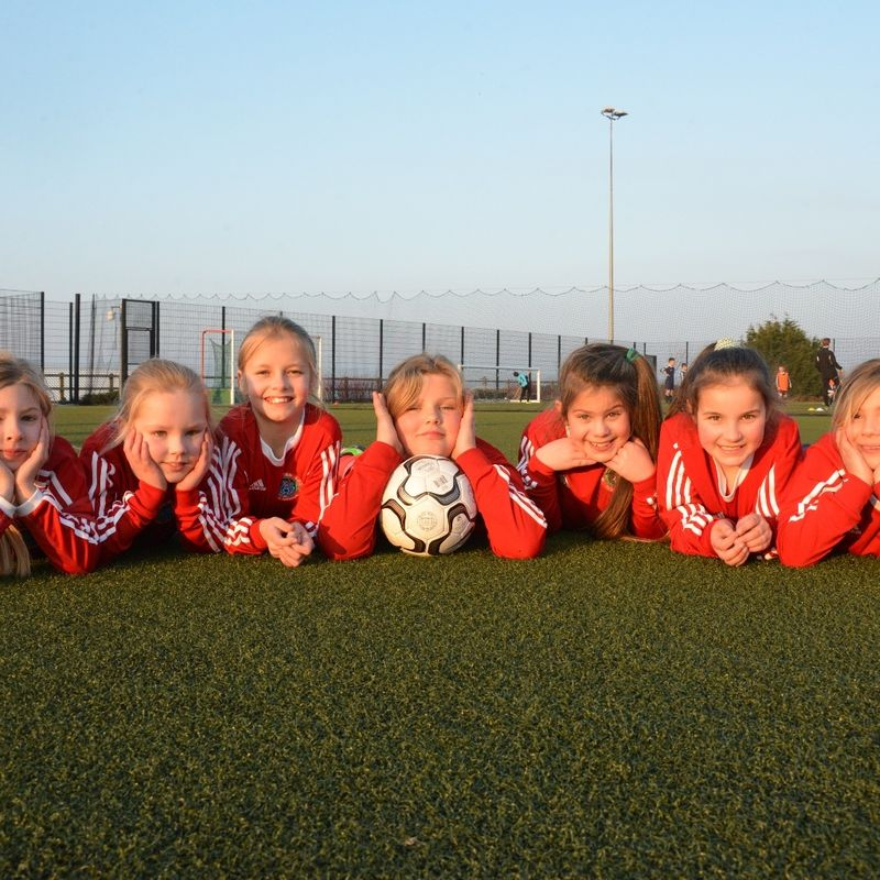 ITS ALL GO FOR GIRLS FOOTBALL AT THE ROBINS