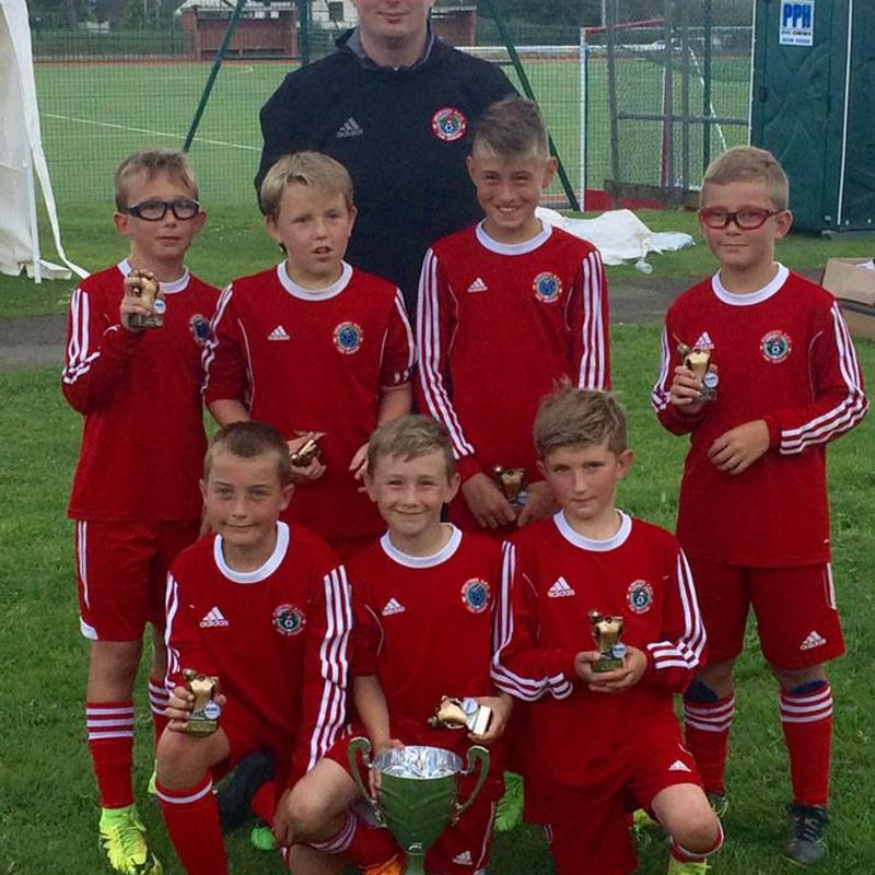 CUP WIN FOR UNDER 10s