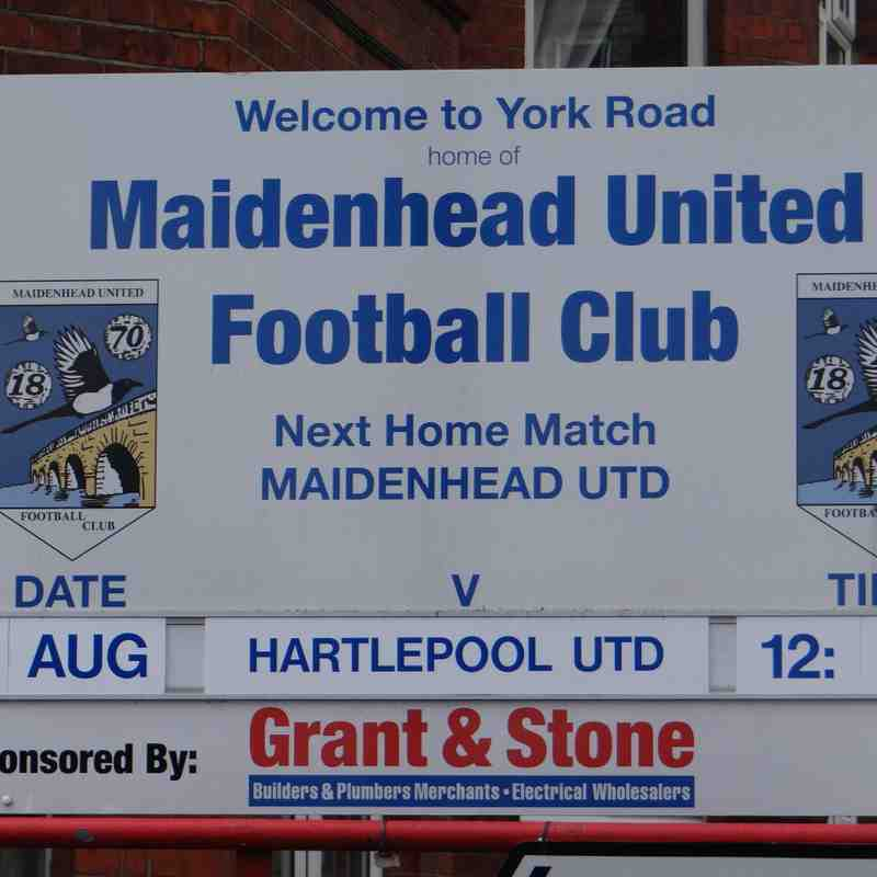 Magpies v Hartlepool - 12/08/17