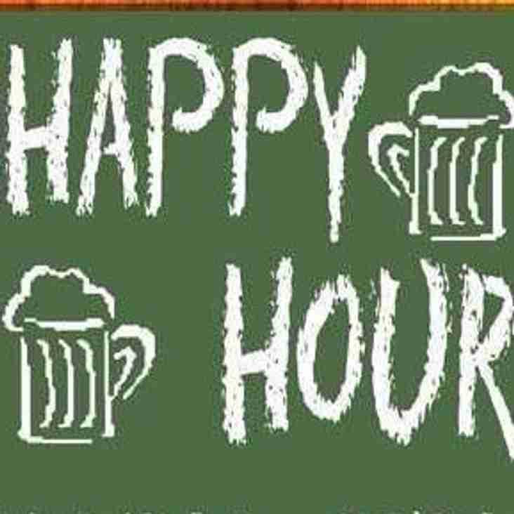 Saturdays Happy Hour at Reading RFC