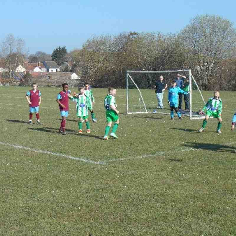 U10 Blues, Warmley, 9th March