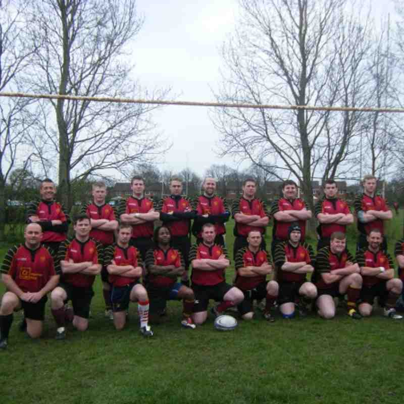 2nd XV v Bridgnorth 31-03-2012