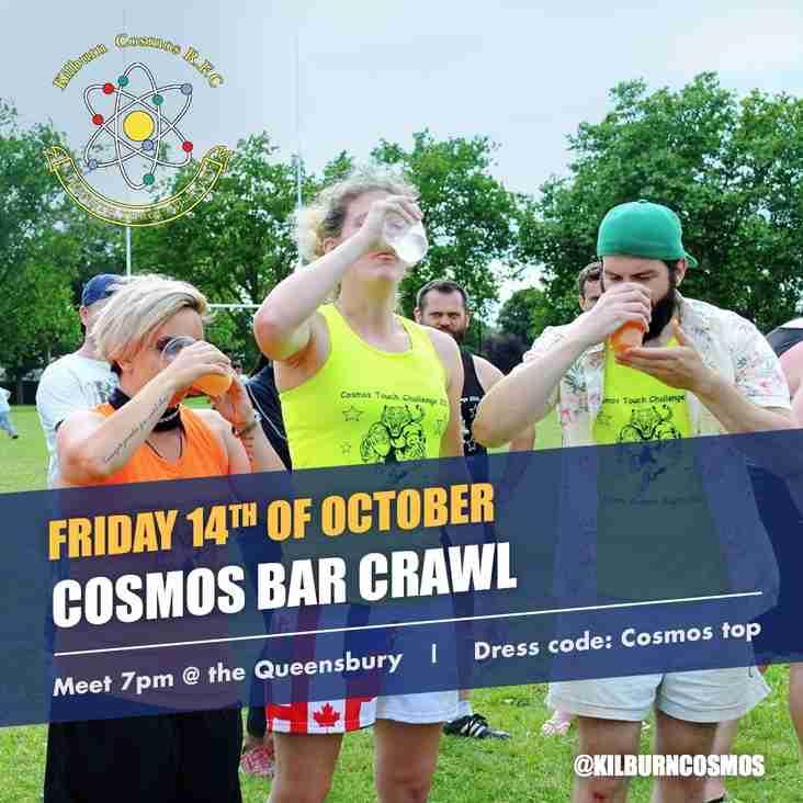 Cosmos Bar Crawl