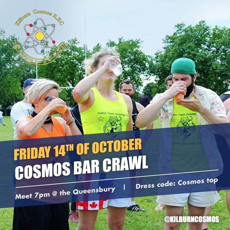 Cosmos Bar Crawl