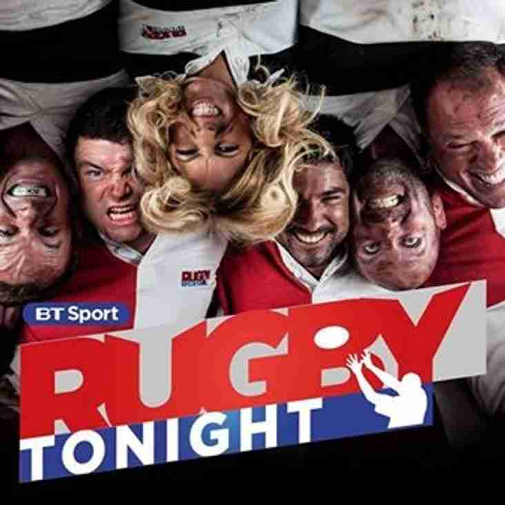 Kilburn Comos in BT Sport's Rugby Tonight ?