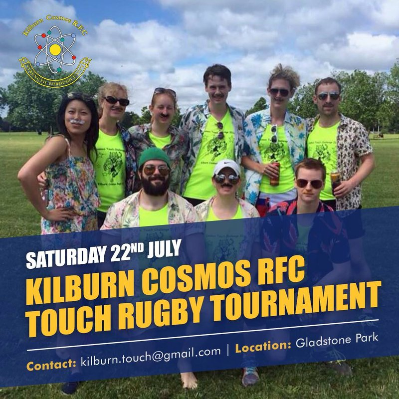 Kilburn Cosmos' Touch Rugby Tournament