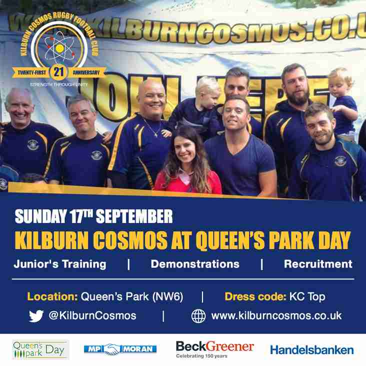 Kilburn Cosmos at Queen's Park Day