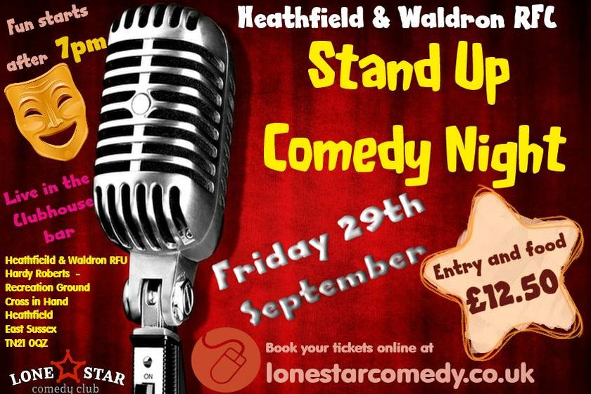 Comedy Night  - Friday 29th September