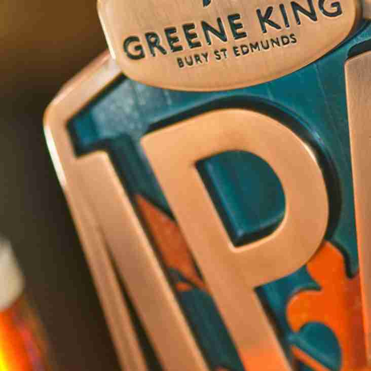 This Saturday...around 5 to 6pm...The club will sell its 25,000 th Pint of draught Greene King this year!