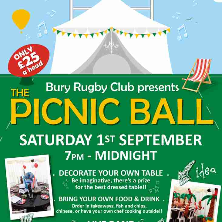 Its the 2018 Picnic Ball. This year its the 1st September at the club in the Marquee...book your table now.
