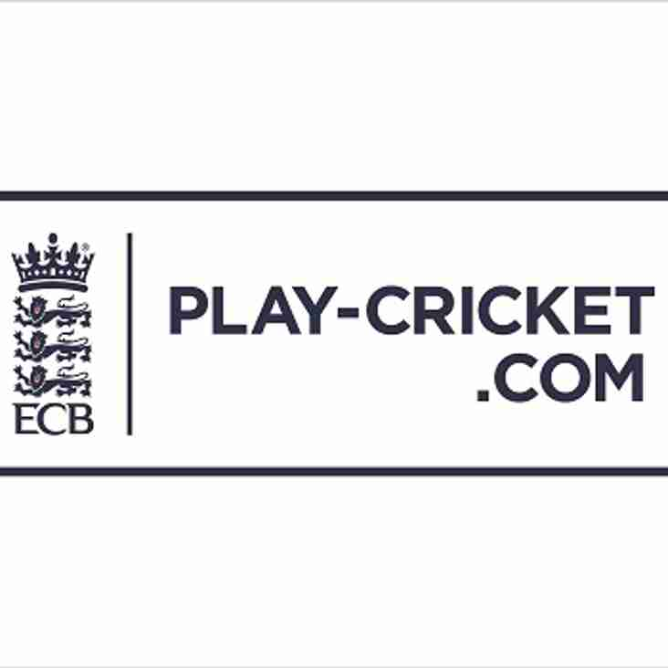 Long Lee C.C. now integrated with Play-Cricket.com