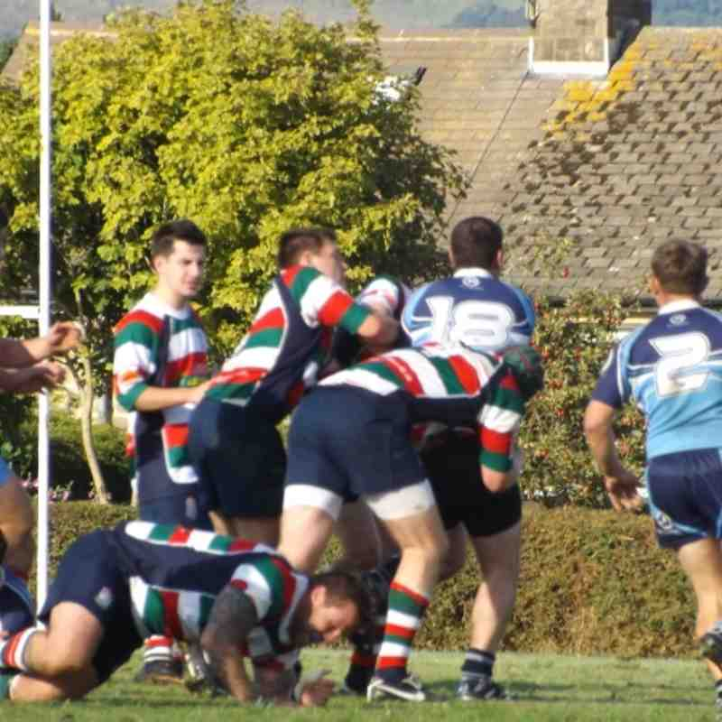 Lutterworth 1sts Vs Bakewell Mannerians (Away 22-9-12)