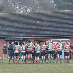 1sts 13 Vs Old Northamptonians 30 (Home 21-01-2017)