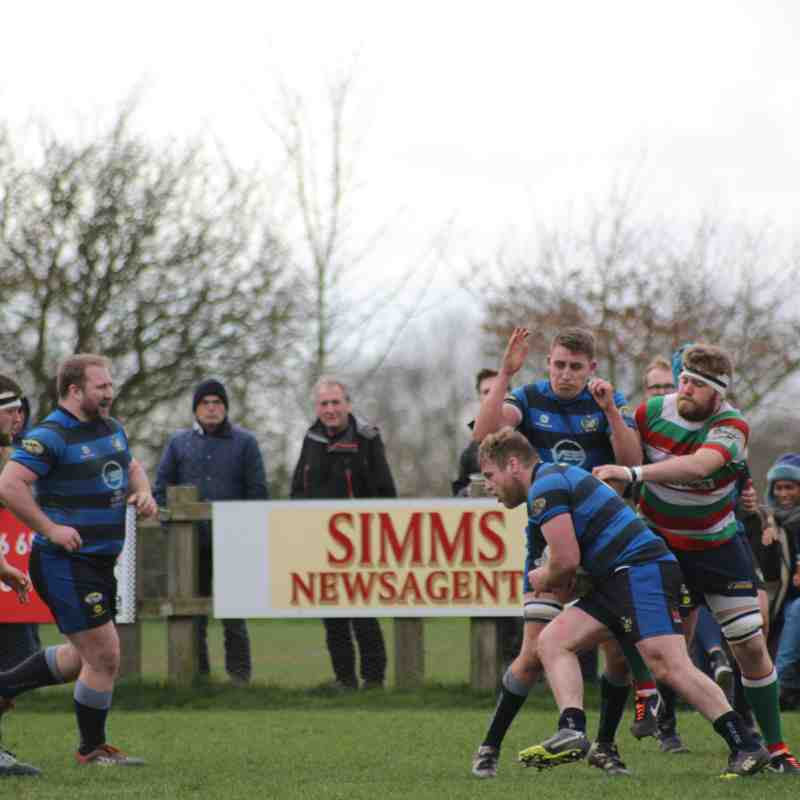 1sts 26 vs Syston 30 (Home 19-3-2017)