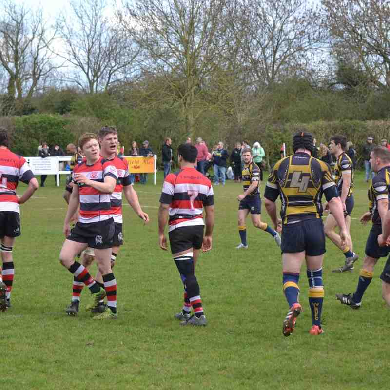 1st XV vs West Leeds April 2016