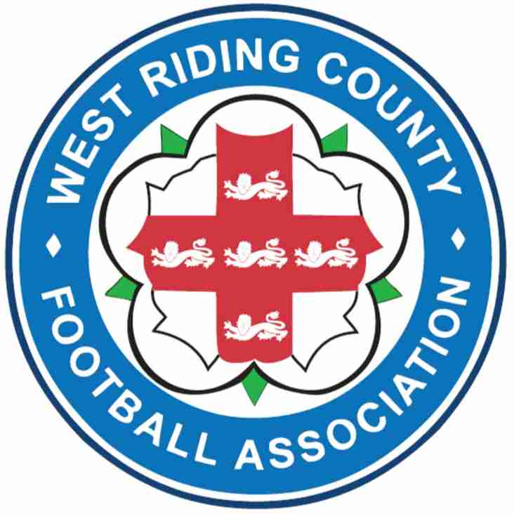 West Riding County Cups Drawn