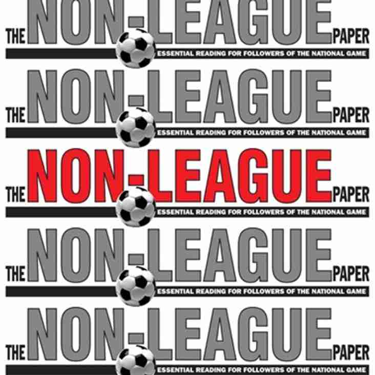 Non-League Paper Article