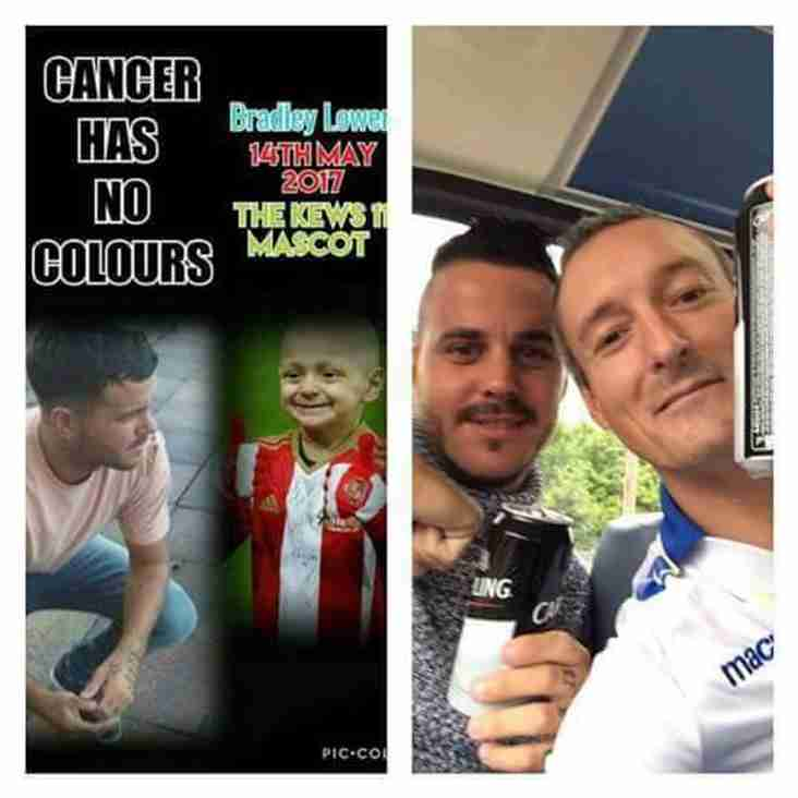 Bradley Lowery to lead out the Sides in Michael Kew Charity Match