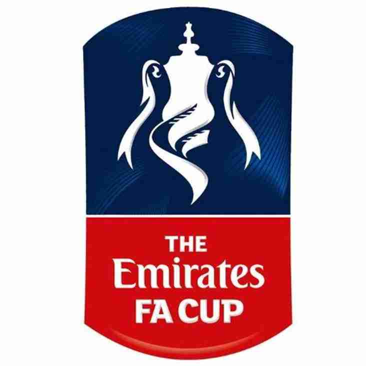 FA Cup First Qualifying Round Draw