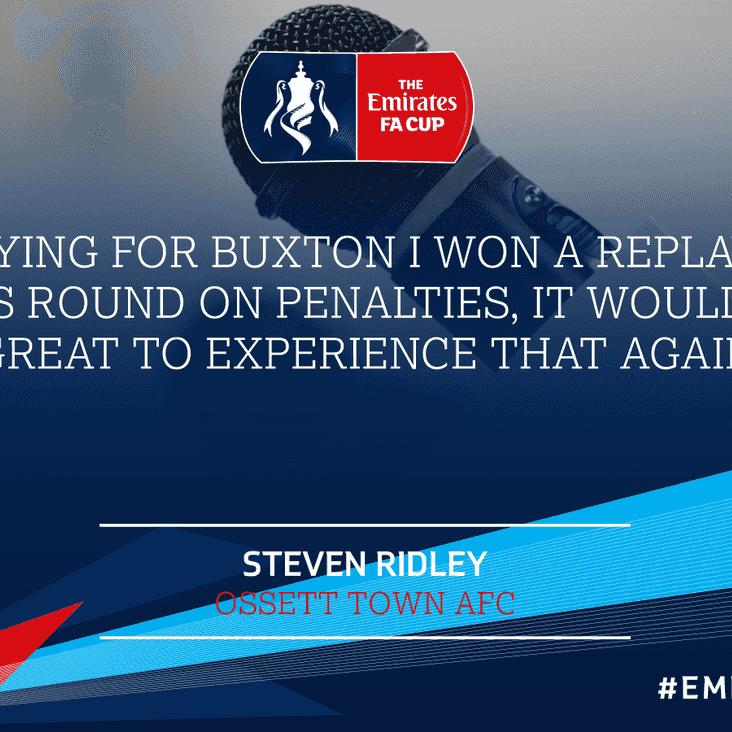 My FA Cup: Steve Ridley