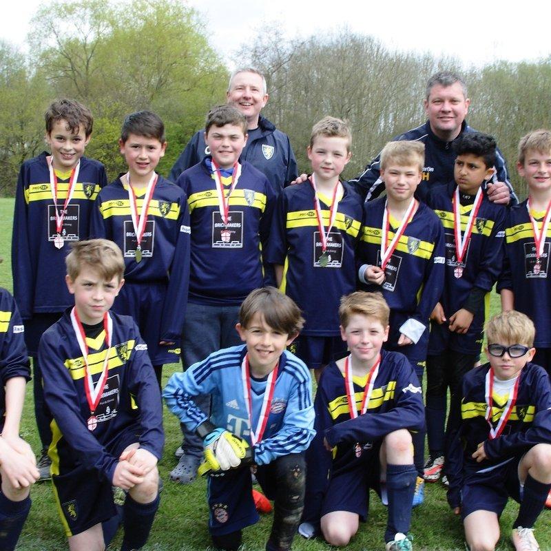 Windlesham United Falcons 1 - 1 Onslow Hotspurs