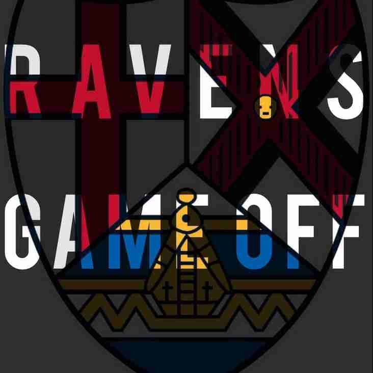 Felixstowe Vs Ravens CANCELLED