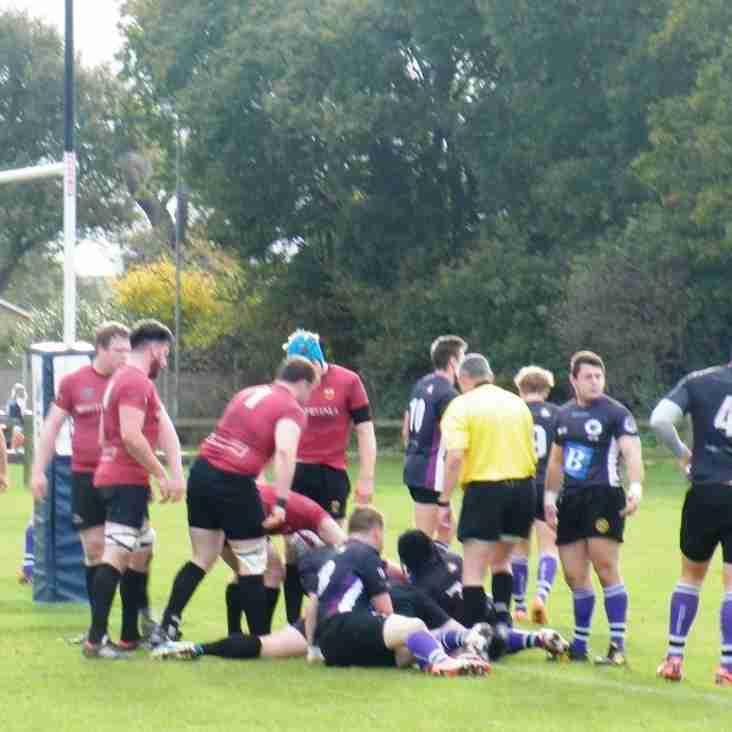 1st XV Result - Colchester 74 - 0 Romford & Gidea Park