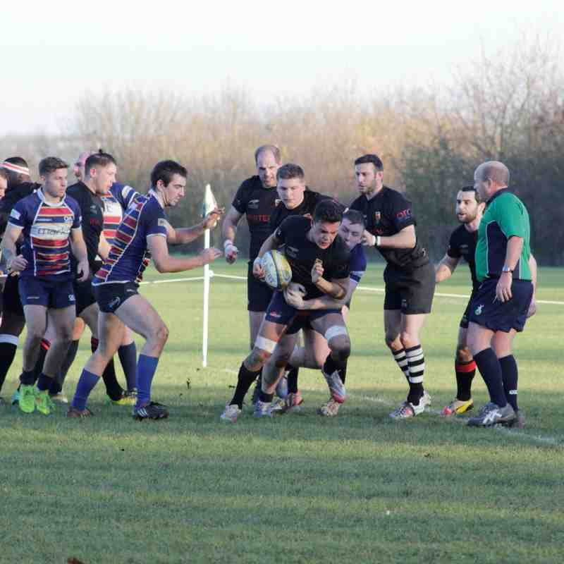 Old Albanians Vs 1st XV Development Squad 13/12/14